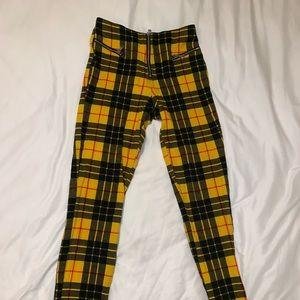 TIGER MIST Plaid Pants